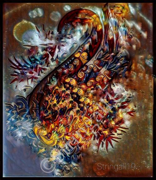 The Cosmic Swan